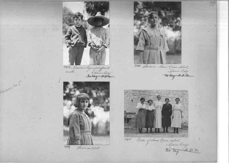 Mission Photograph Album - Mexico #05 page 0077