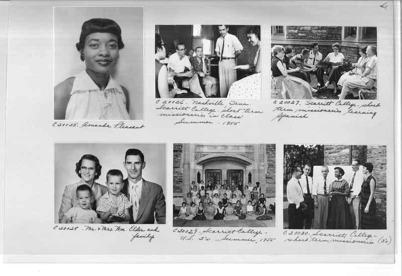 Mission Photograph Album - Portraits #09 Page 0041