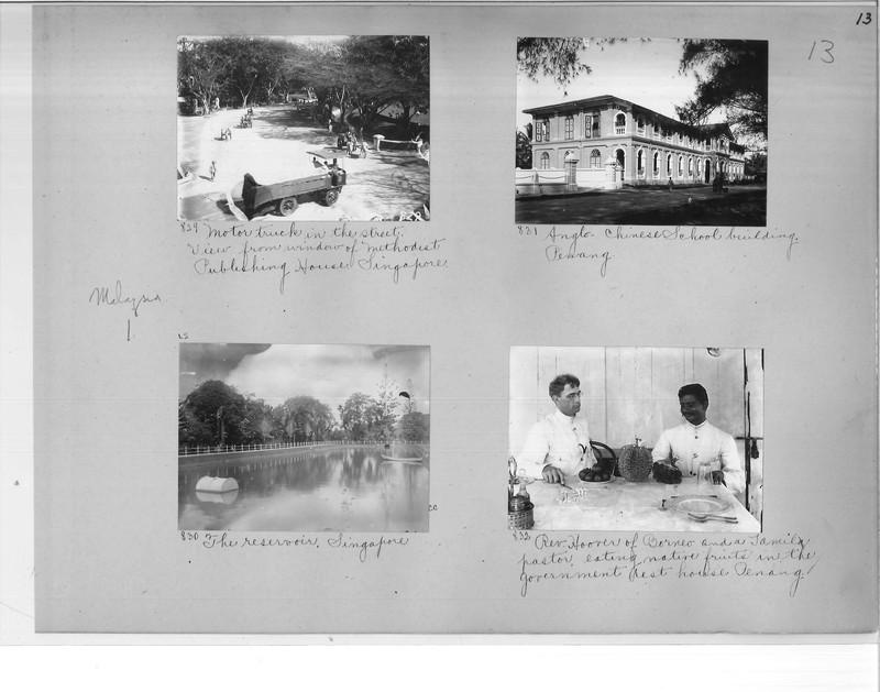 Mission Photograph Album - Malaysia #1 page 0013