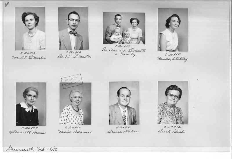 Mission Photograph Album - Portraits #09 Page 0120