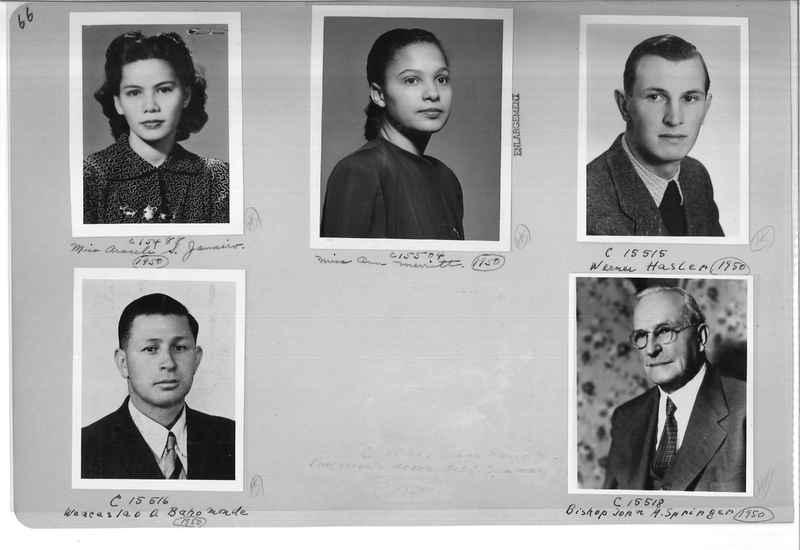 Mission Photograph Album - Portraits #07 Page 0066