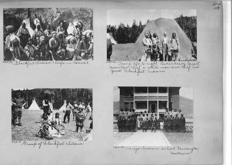 Mission Photograph Album - Indians #2 page_0113