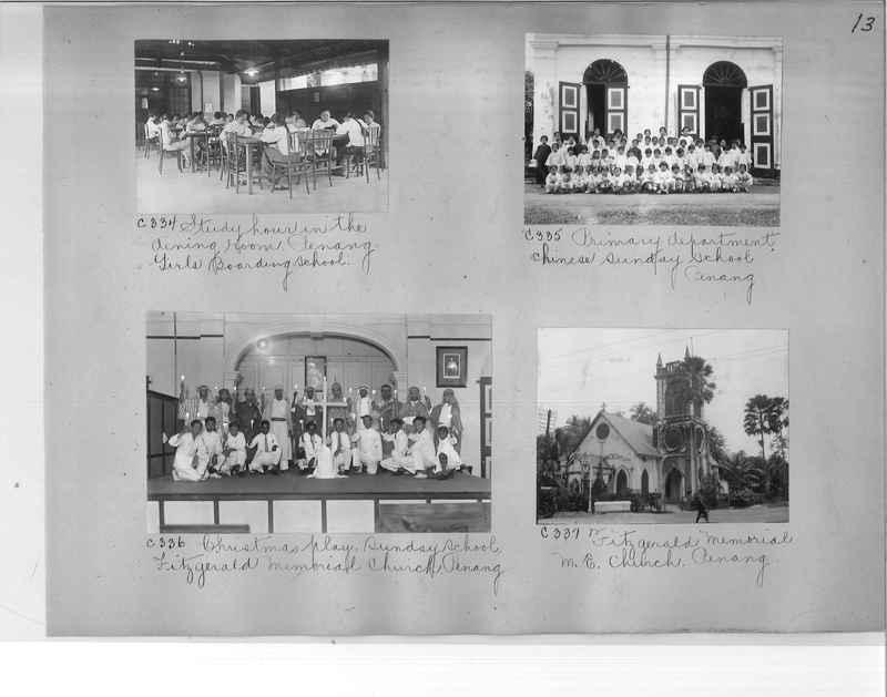 Mission Photograph Album - Malaysia #7 page 0013