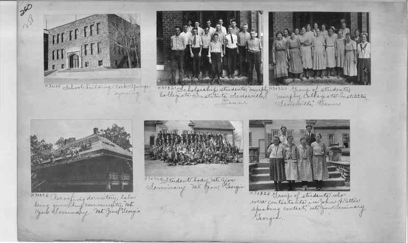 Mission Photograph Album - Education #1 page 0260