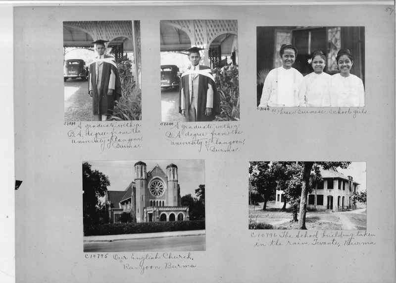 Mission Photograph Album - Burma #2 page 0059