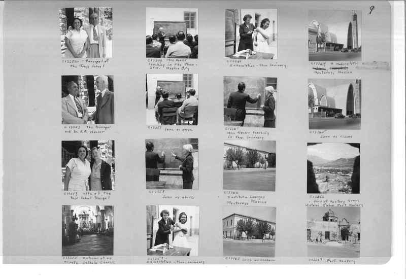Mission Photograph Album - Mexico #09 Page 0009