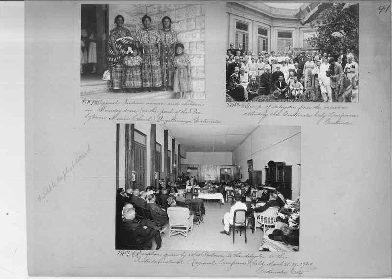 Mission Photograph Album - Panama #04 page 0041