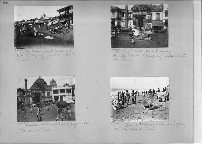 Mission Photograph Album - India #04 page_0104