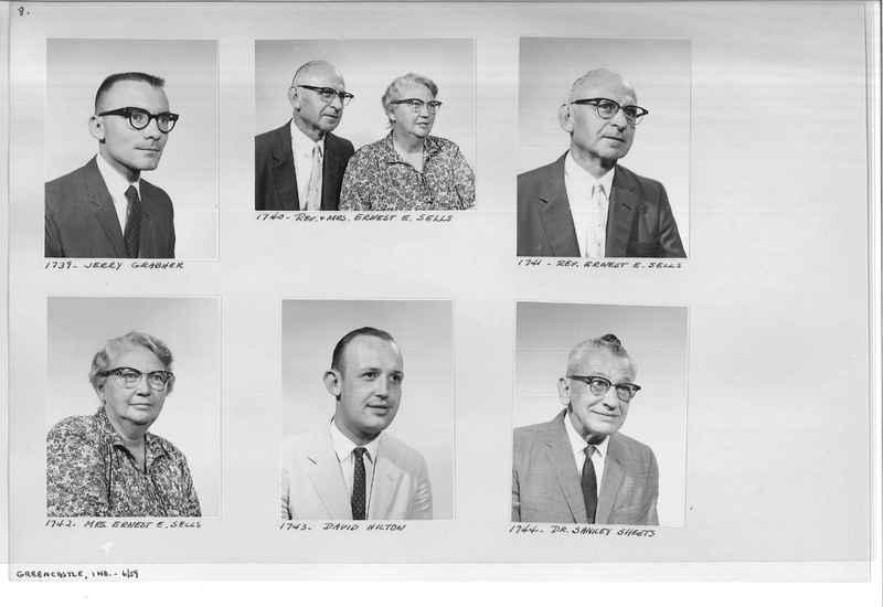 Mission Photograph Album - Portraits #12 Page 0008