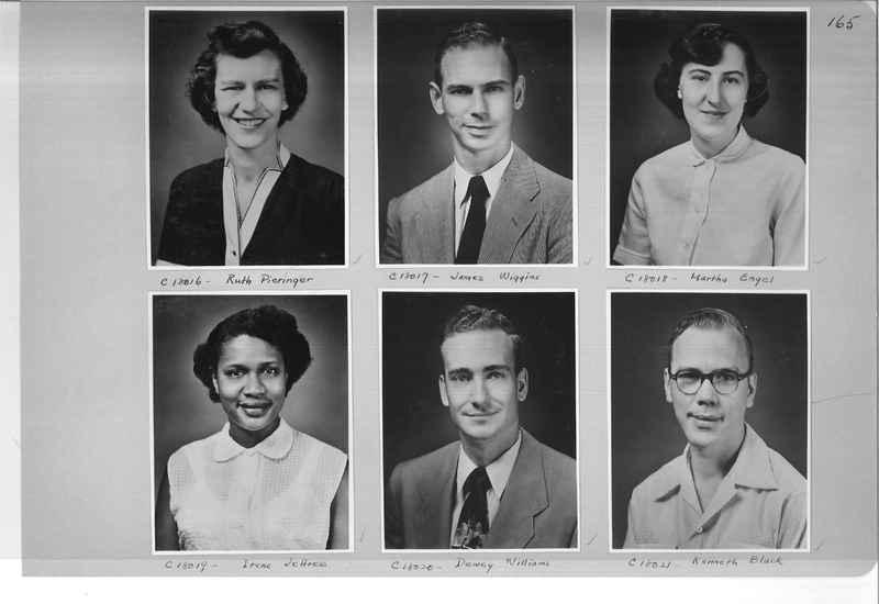 Mission Photograph Album - Portraits #07 Page 0165