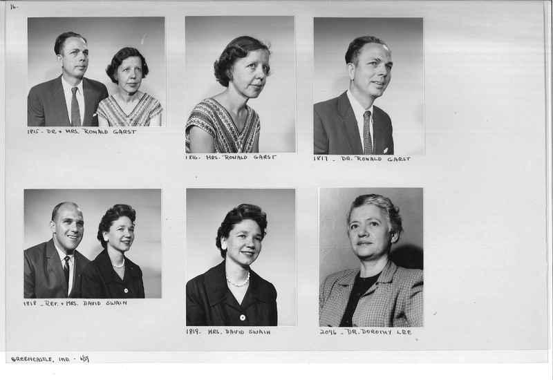 Mission Photograph Album - Portraits #12 Page 0016