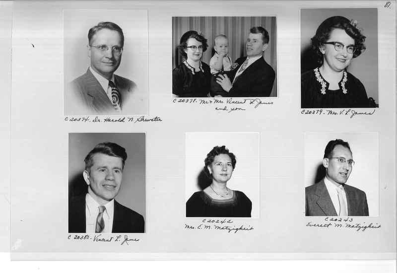 Mission Photograph Album - Portraits #09 Page 0081