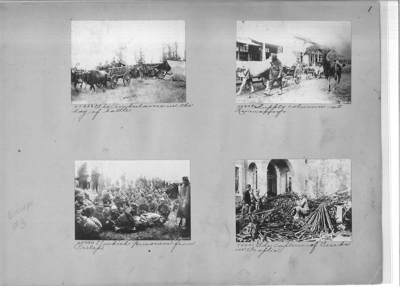 Mission Photograph Album - Europe #03 Page 0001