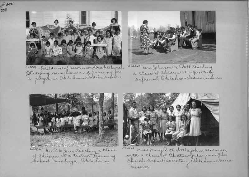 Mission Photograph Album - Indians #2 page_0204