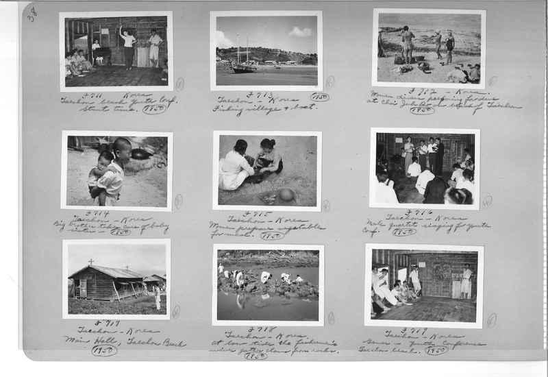 Mission Photograph Album - Korea #6 page 0038