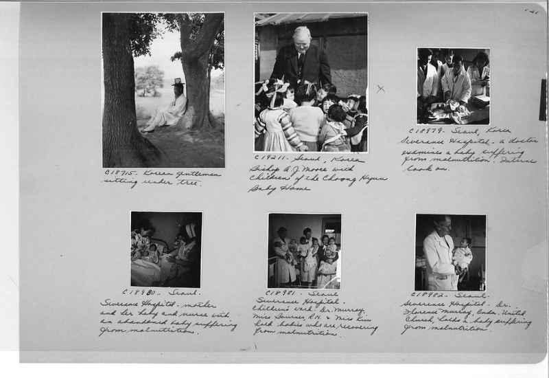 Mission Photograph Album - Korea #6 page 0121