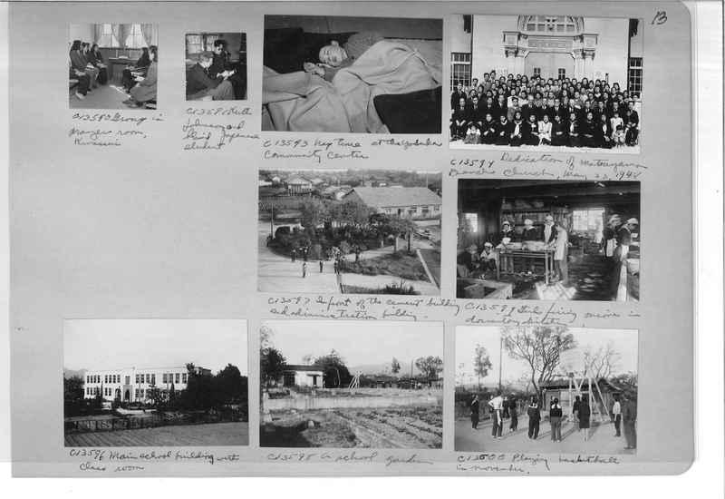 Mission Photograph Album - Japan #07 Page 0013