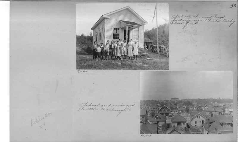 Mission Photograph Album - Education #1 page 0053