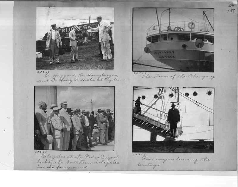 Mission Photograph Album - Panama #1 page  0159