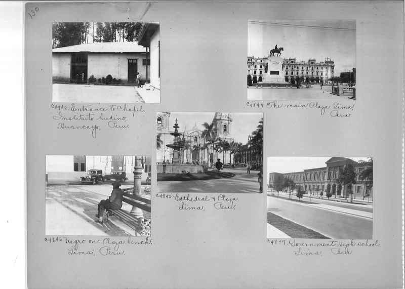 Misson Photograph Album - South America #8 page 0130