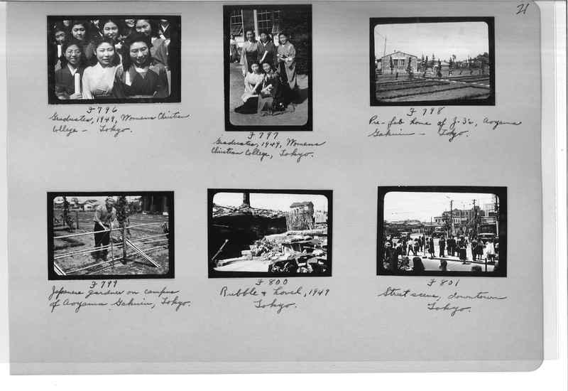 Mission Photograph Album - Japan #07 Page 0021