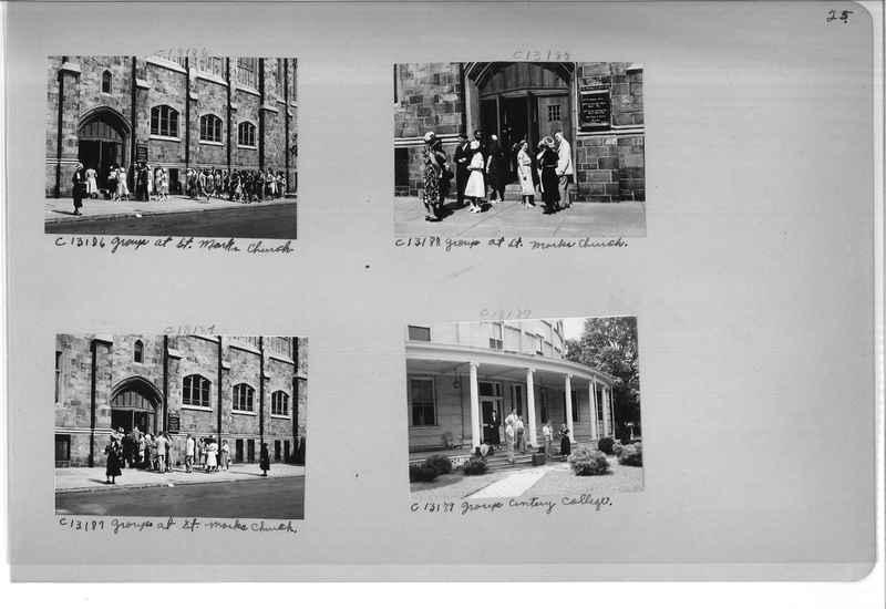 Mission Photograph Album - Portraits #13 Page 0025