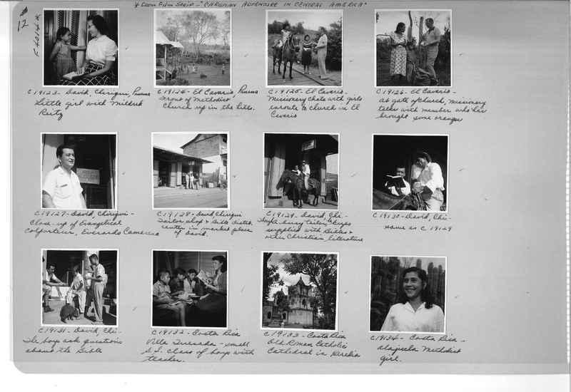 Mission Photograph Album - Panama #05 page 0012