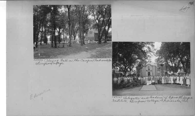 Mission Photograph Album - Education #1 page 0163