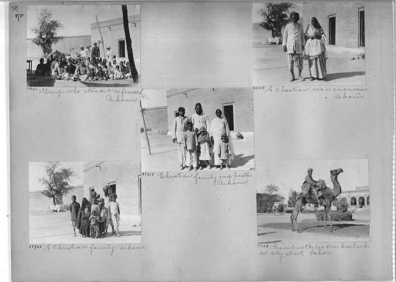 Mission Photograph Album - India #10 Page 0072