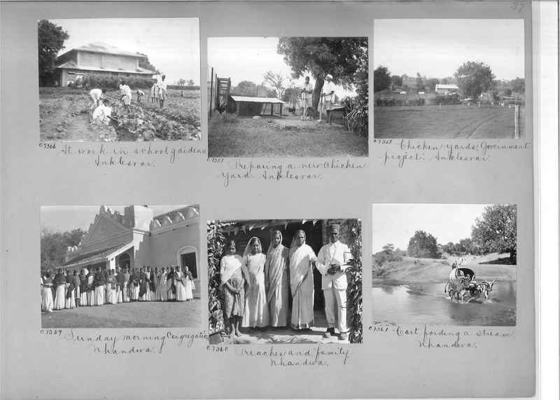 Mission Photograph Album - India #13 Page 0037