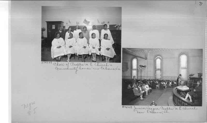 Mission Photograph Album - Negro #5 page 0071
