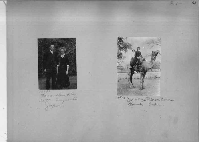 Mission Photograph Album - Portraits #1 page 0021