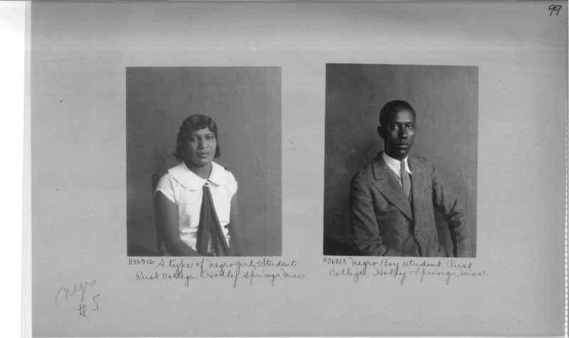 Mission Photograph Album - Negro #5 page 0099