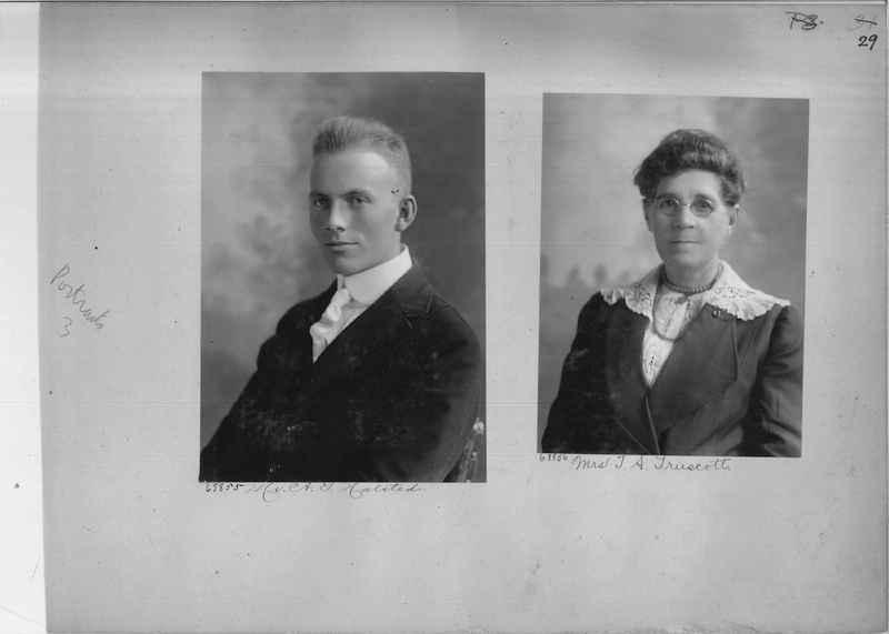 Mission Photograph Album - Portraits #3 page 0029