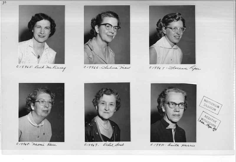Mission Photograph Album - Portraits #09 Page 0030