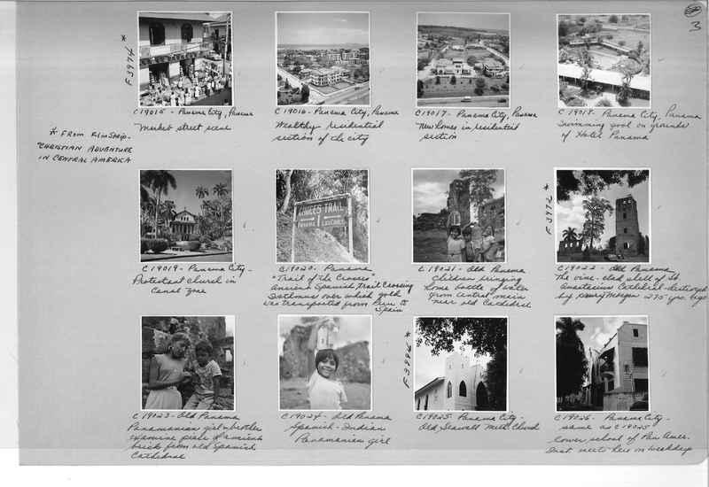 Mission Photograph Album - Panama #05 page 0003
