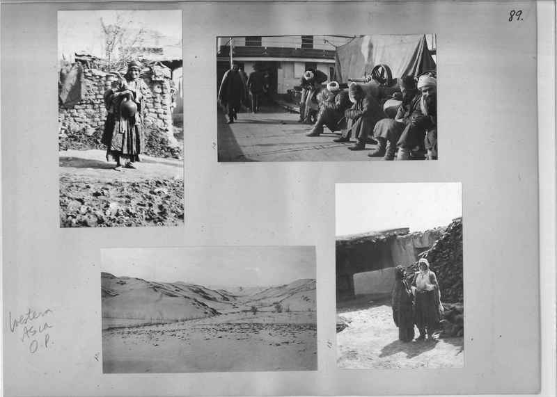 Mission Photograph Album - Western Asia - O.P. - #01 page_0089