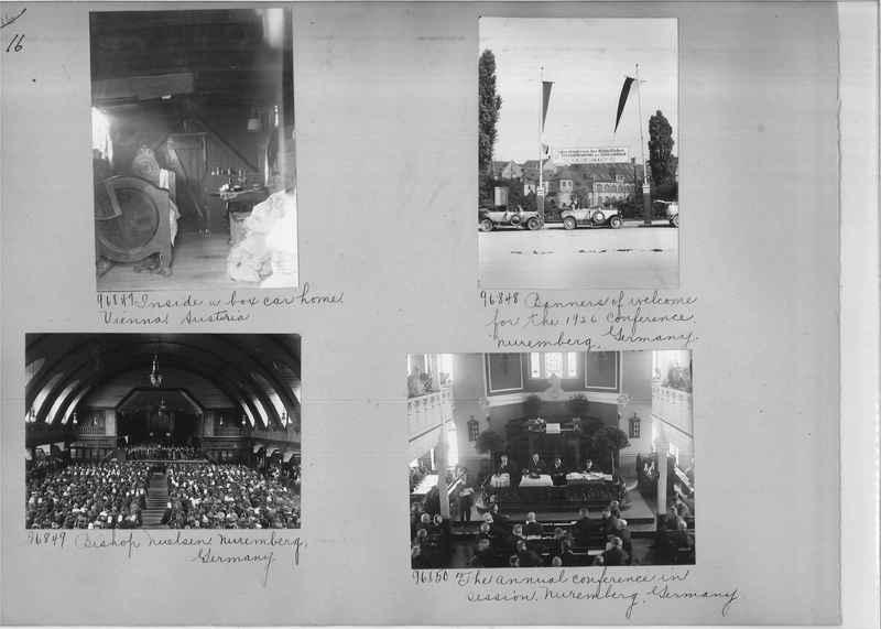 Mission Photograph Album - Europe #09 Page 0016