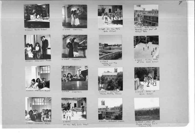 Mission Photograph Album - Mexico #09 Page 0007