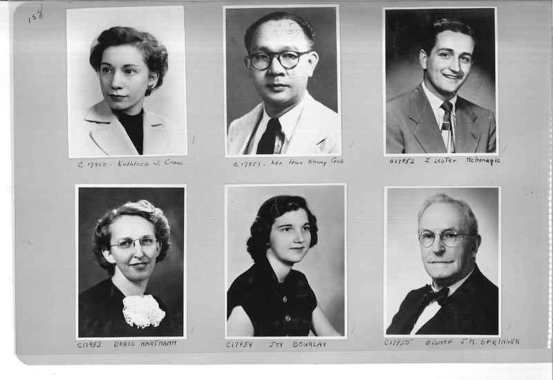Mission Photograph Album - Portraits #07 Page 0158