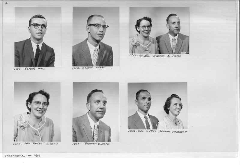 Mission Photograph Album - Portraits #12 Page 0010