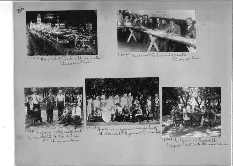 Misson Photograph Album - South America #8 page 0086