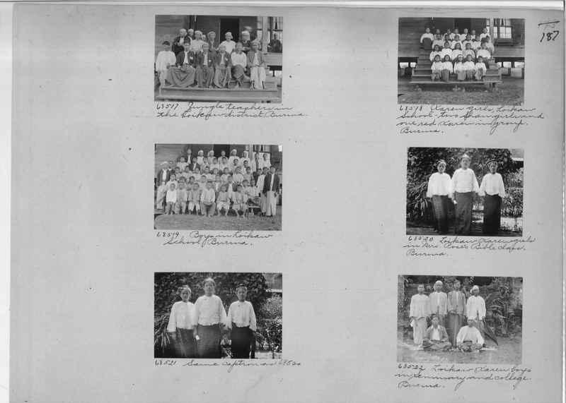 Mission Photograph Album - Burma #1 page 0187