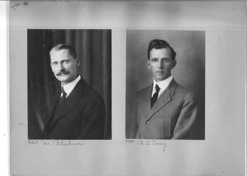 Mission Photograph Album - Portraits #3 page 0186