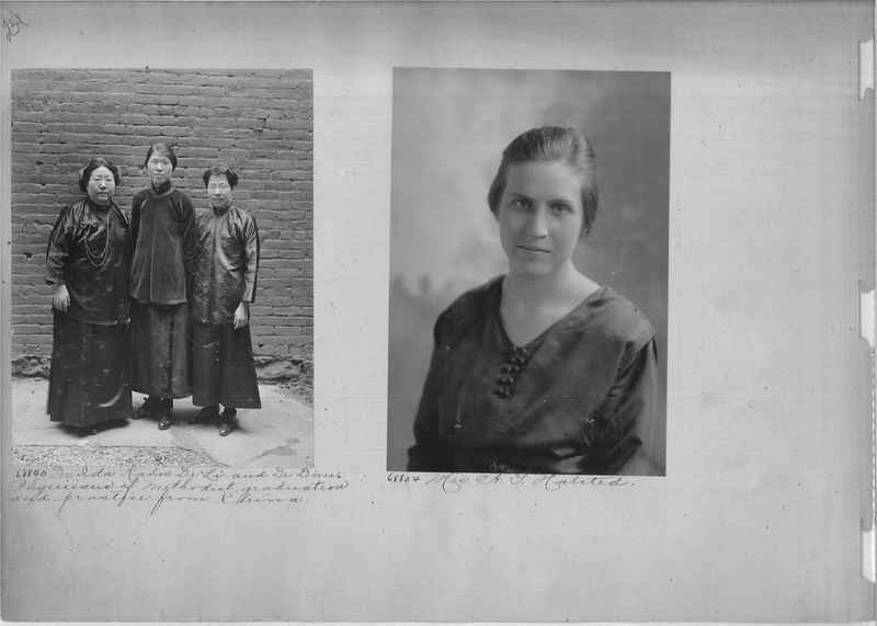 Mission Photograph Album - Portraits #3 page 0234