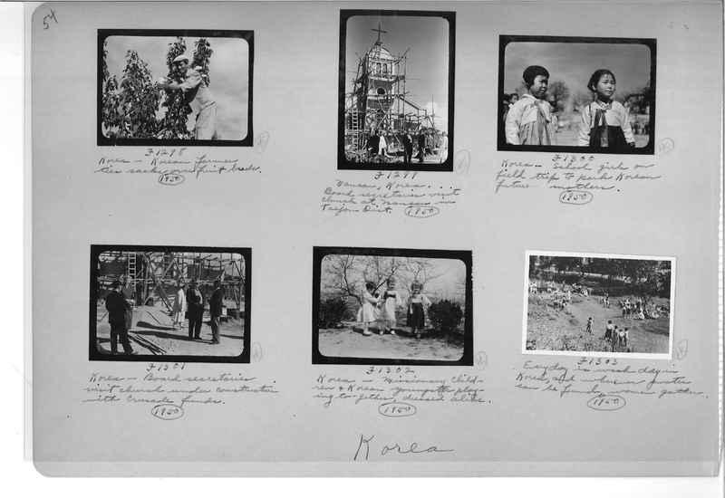 Mission Photograph Album - Korea #6 page 0054