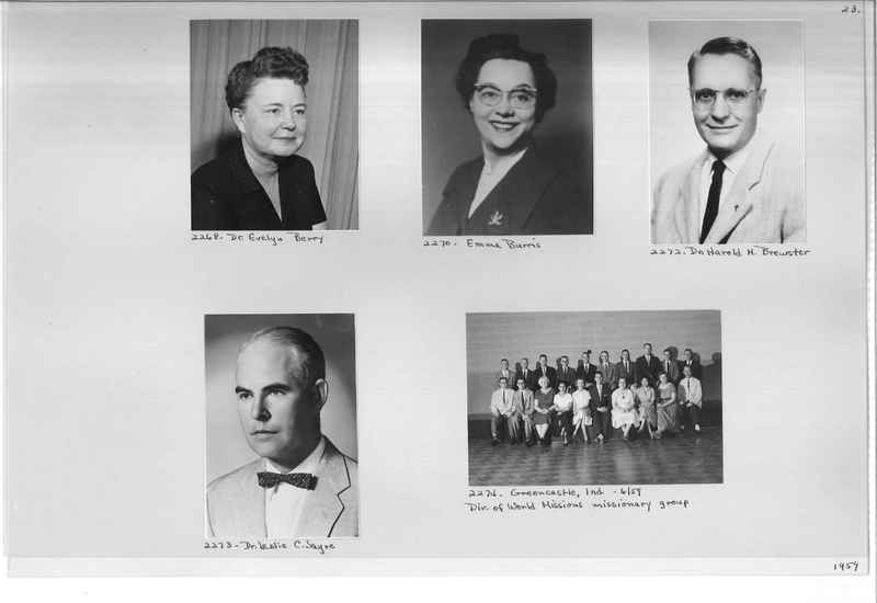 Mission Photograph Album - Portraits #12 Page 0023