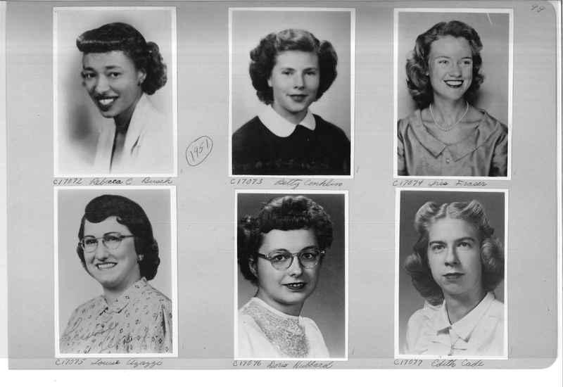 Mission Photograph Album - Portraits #07 Page 0099