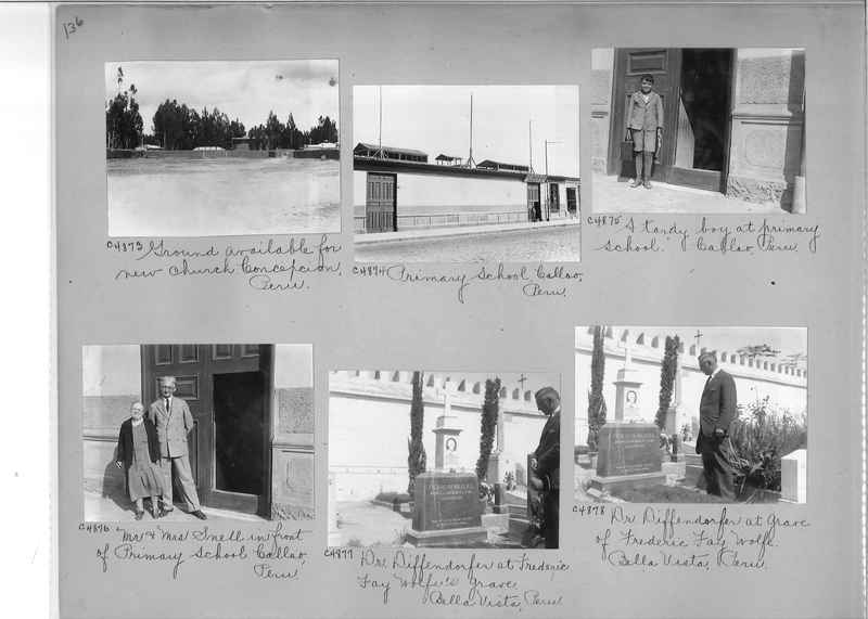Misson Photograph Album - South America #8 page 0136