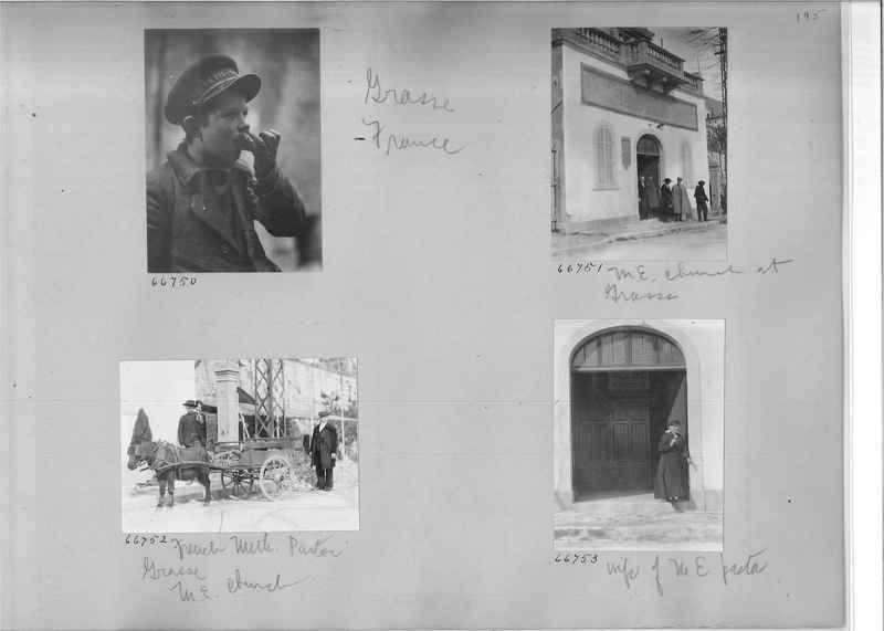 Mission Photograph Album - Europe #05 Page 0195
